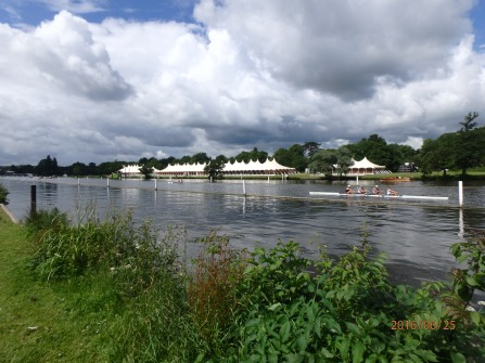 Preparations for Henley Regatta