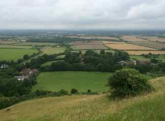 Fulking from Edburton Hill