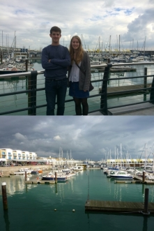 Lunch at Brighton Marina