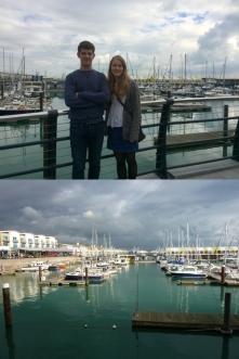 Lunch at Brighton Marina