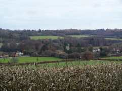 Little Missenden from Coleman's Wood