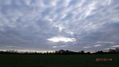Burrow Farm, mid-winter