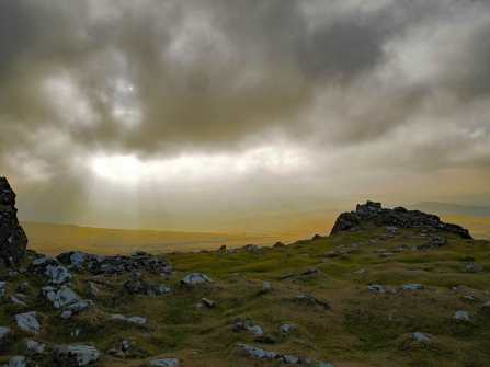 Cox Tor towards Merrivale