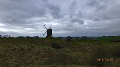 Exposed-to-the-elements-Brill-Windmill