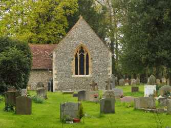 Grave yard, St Lawrence, Cholesbury