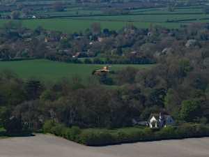 Kite over Ellesborough