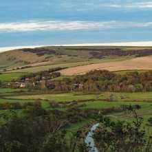 The Cuckmere Valley, early evening