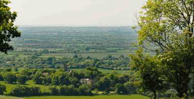 Ellesborough from Coombe Hill, Bucks