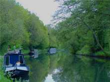 Evening on The Grand Union Canal, Croxley