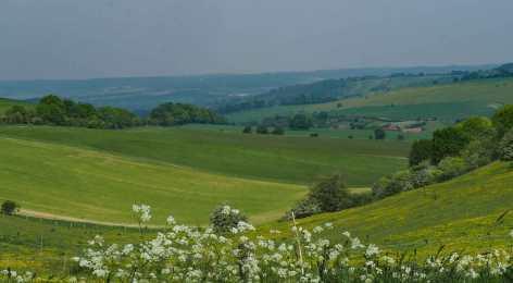 Thurle Grange from The Ridgeway, Berkshire