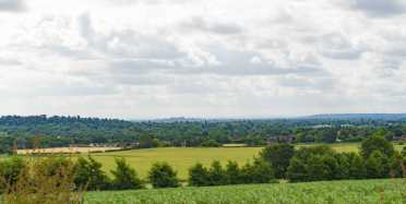 The Thames Valley towards Windsor