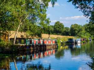 The Grand Union Canal, Broadwater Lock