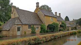 Lower Slaughter in August...through the rain