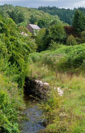 Stoudley Brook, Upper Stoudley