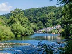 The River Wye at Symonds Yat