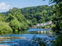 The River Wye at Symonds Yat