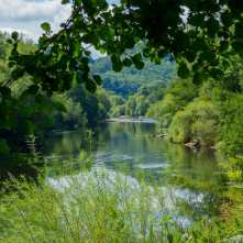The River Wye in the sun
