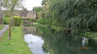 The Windrush and Bourton on the Water
