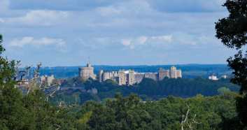 Windsor Castle in the distance