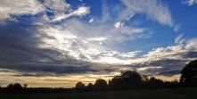Autumn Sunrise over Codicote