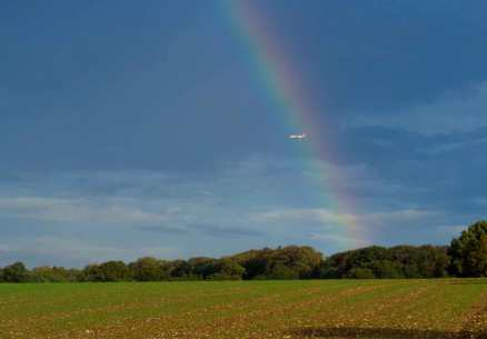 EasyJet at the end of the rainbow