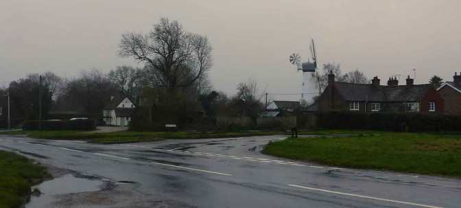 Cholesbury and its windmill