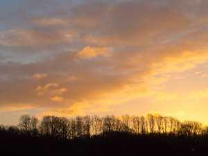 Morning skies over Sarratt