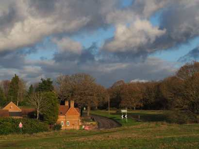 Winter skies over Chorleywood Common