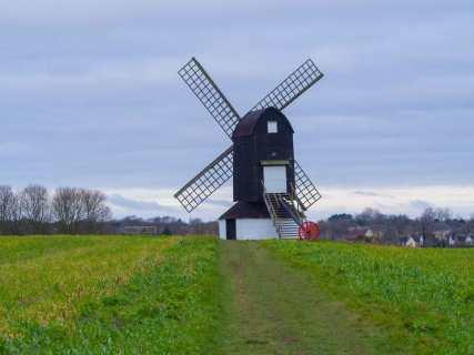 Pistone Windmill, Chilterns