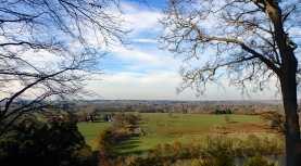 Berkshire from Cliveden Woodland Walk