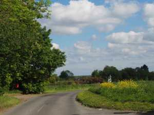 Country lanes, North Hertfordshire