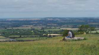 The view from Whiteleaf Hill