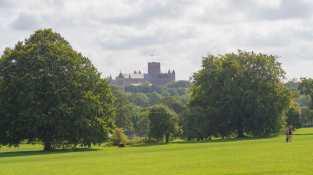 Verulamium Park and St Albans Abbey